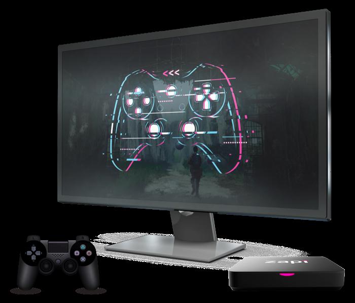 pantalla videojuegos zapi